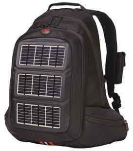 Solar-Charging Backpack