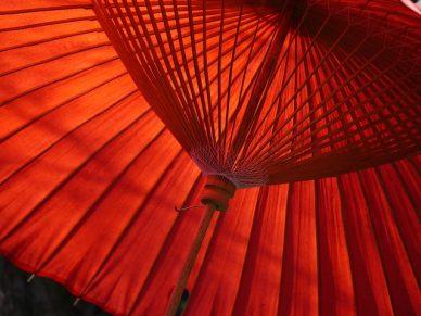 Aerodynamic Umbrella