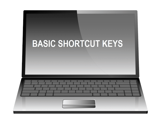 BASIC COMPUTER SHORTCUT KEYS