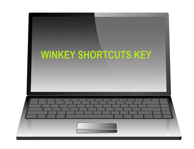 WINKEY SHORTCUTS