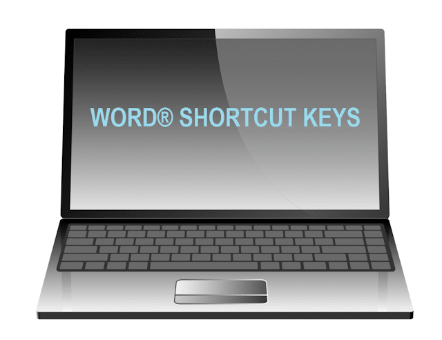 WORD® COMPUTER SHORTCUT KEYS