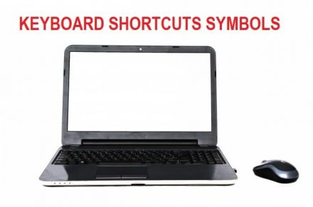 KEYBOARD SHORTCUTS SYMBOLS