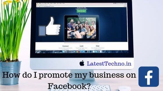 How do I promote my business on Facebook