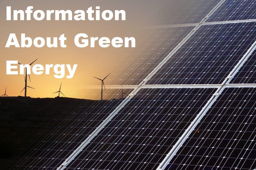 Good Green Energy Tips