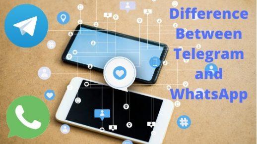 Difference Between Telegram and WhatsApp