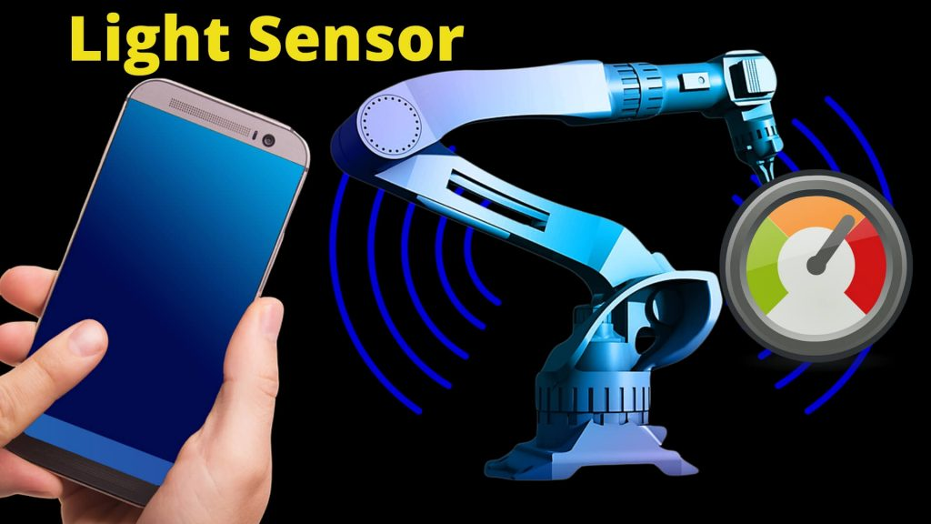 How does the light sensors works