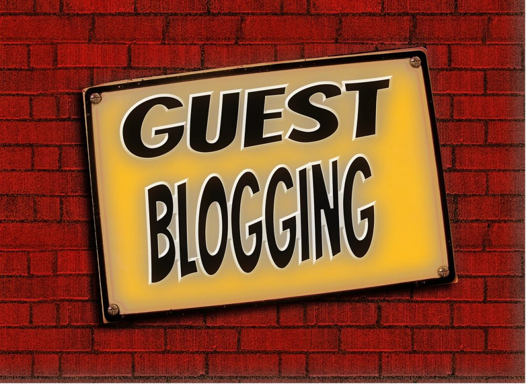 Write guest posts for your blog