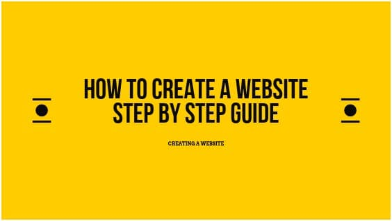 How to create a website: Free Step-by-Step Guide for Beginners(2020)