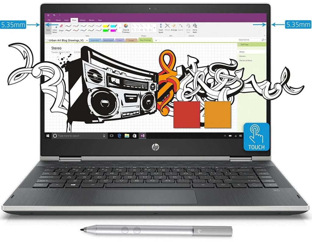 HP Pavilion x360 Core i5 8th Gen (8GB, 1TB+8GB SSHD)