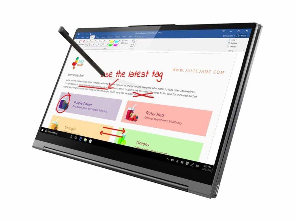 Lenovo Yoga C940-14 FHD Touch(12GBRAM - 512GB SSD)