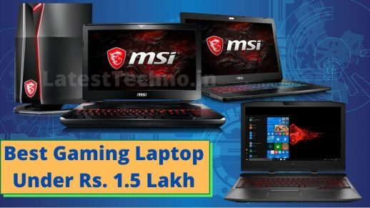 Best Gaming Laptop Under 1.5 Lakh in India- 2020