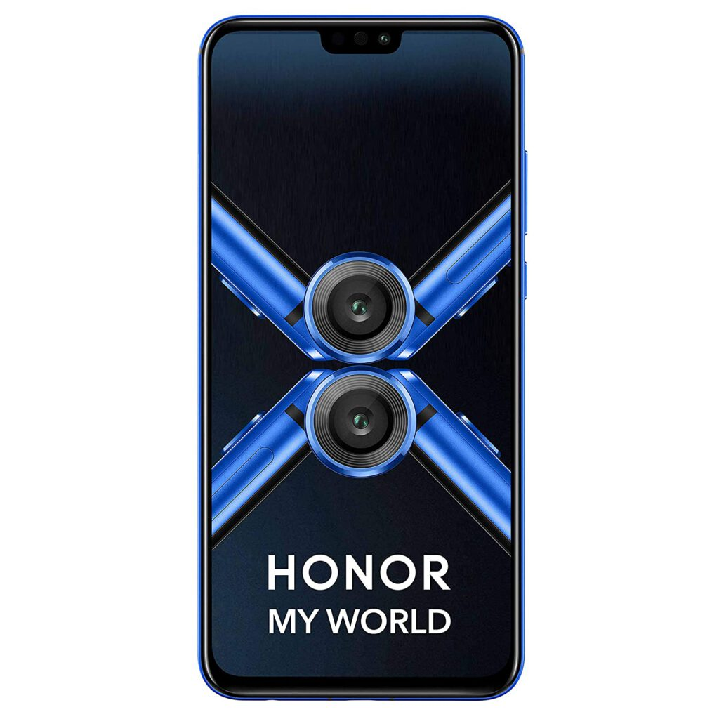Honor 8X (Blue, 6GB RAM, 128GB Storage)