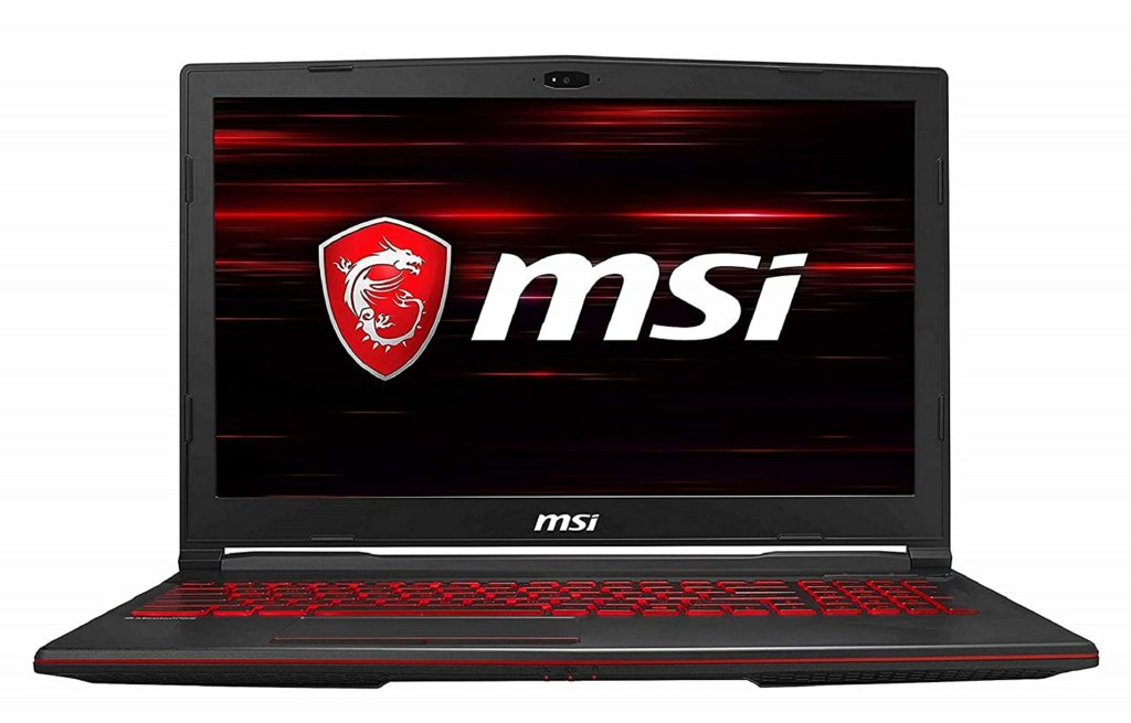 MSI Gaming GL63 9SD-1044IN Intel Core i7-9750H 15.6-inch Laptop (8GB, 1TB HDD + 256GB NVMe SSD)