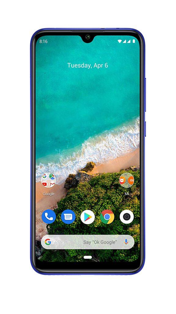 Xiaomi Mi A3 (6GB RAM, 128GB Storage)