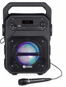 Zoook Rocker Thunder 20 watts Bluetooth Speaker with Karaoke Mic